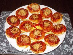 Partyfalatkák Ketchup, Ethnic Recipes, Food, Essen, Meals, Yemek, Eten