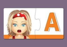 rostirea literelor logopedie forma gurii limbii - Căutare Google Ronald Mcdonald, Disney Characters, Fictional Characters, Puzzle, Disney Princess, Google, Puzzles, Riddles, Fantasy Characters