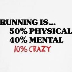 A great running quote! Something to think about when out for a run!