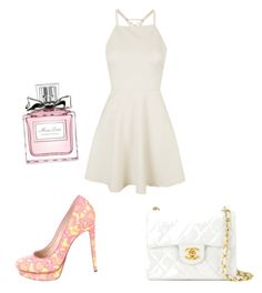 """Classy  chic"" by thinkk-1 on Polyvore featuring Topshop, Nicholas Kirkwood, Chanel and Christian Dior"