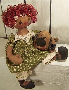 Cloth Doll Patterns by Michelle Allen