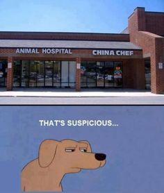 Suspicious cuisine...
