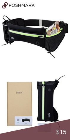 Running Belt Running belt with wallet and space for water bottles Accessories