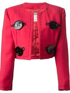 Moschino Vintage 'needle' Skirt Suit - House Of Liza - Farfetch.com