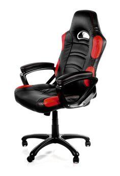 Геймърски стол Arozzi Enzo Red - цена и характеристики | Plasico IT Superstore
