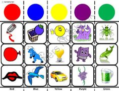 Autism Sorting Boards with Picture Choices from Inspired by Evan Autism Resources on TeachersNotebook.com -  (15 pages)  - Sorting Boards for Autism with 86 2x2 picture cards