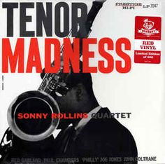 Rare #jazz release: Sonny Rollins Quartet - Tenor Madness #Vinyl LP ** Newbury pressing on limited edition red vinyl, only 600 made. https://www.discogs.com/sell/item/494669594