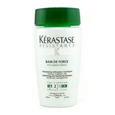 Kerastase Resistance Bain De Force Fortifying Shampoo For Weakened to Fragile Hair, 8.5 Ounce