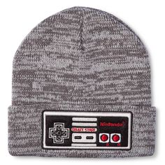 59a1e23b31f Nintendo Game System Controller Toboggan Hat Gray Marled One Size Fits Most  14