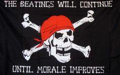 Pirate Morale Premium 3'x 5' Pirate Flag