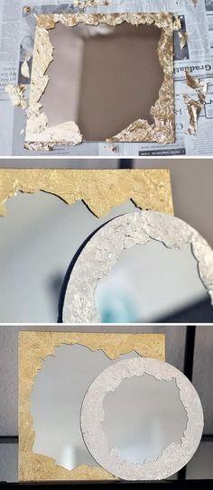 DIY Anthropologie Mirrors.