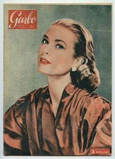 REVISTA GARBO - Nº 157 - 1956 - GRACE KELLY, CARYL CHESSMAN, FRANK SINATRA - Foto 1