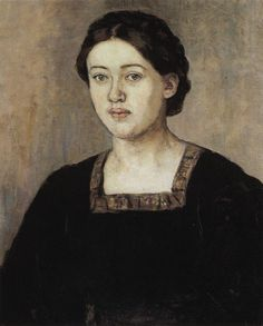 Портрет А. А. Добринской. 1911. Василий Иванович Суриков