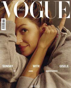 Gisele Bündchen, Vogue Magazine [Italy] (February 2018)