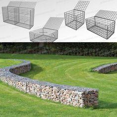 Gabion - cage métallique - Gabion Mur et Cage