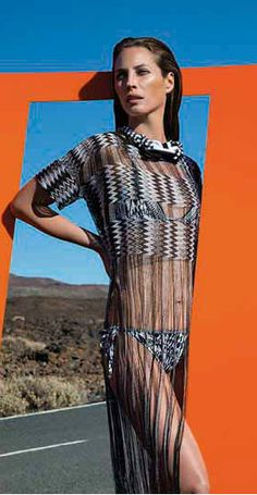 Christy Turlington Burns Headlines Missoni Summer 2014 Campaign