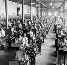 Cigarette Factory In Mexico City - Mexico - C 1903 - El Buen Tono Photograph
