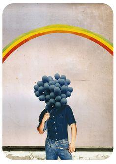 Raintree1969 (collage mixed media digital art (