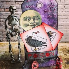 Halloween tag with cards - Scrapbook.com