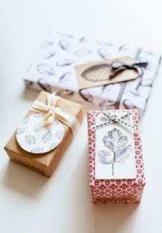Emballer des cadeaux en papier origina