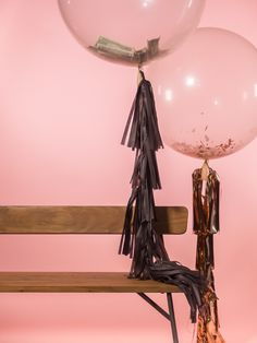 Clear Balloon by ProspectGoods on Etsy 36 Inch Balloons, Clear Balloons, Balloon Tassel, Tassels, Table Lamp, Ceiling Lights, Lighting, Unique Jewelry, Handmade Gifts