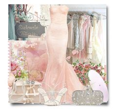 """""""Lady in Pink"""" by brendariley-1 ❤ liked on Polyvore featuring Tiffany & Co., Brooks Brothers, René Caovilla and Marchesa"""