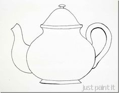 "A nice fat Teapot-Pattern, prints out light even at ""best"" quality"