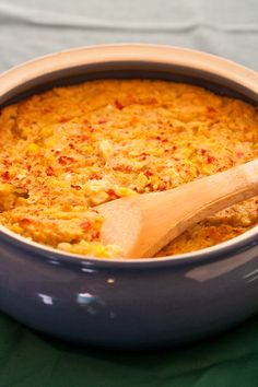A vegan version of the classic southern side dish comfort food, corn pudding. maybe like moms?