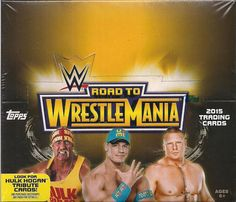 Wrestling Cards 183435: 2015 Topps Wwe Road To Wrestlemania Wrestling Hobby Box Factory Sealed New -> BUY IT NOW ONLY: $37.99 on eBay!
