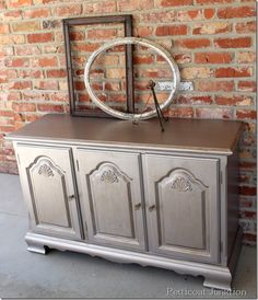 Metallic Painted Furniture, Petticoat Junktion