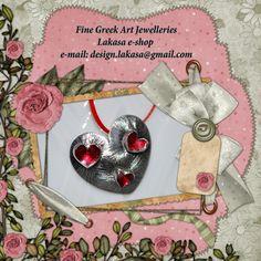 Heart_pendant_silver_925_white_gold-plated_red_enamel_lakasa_e-shop_jewelleries_greek_art_