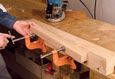 FWW VIDEO: How to Cut Mortises with a Plunge Router -- Refinements to a Fine Woodworking contributor's jig yield faster mortises