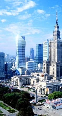 Looks so big and beautiful that you can almost forget what was happenning right there. Warsaw, Poland.