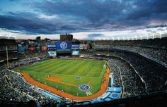 New York City FC to open upper deck at Yankee Stadium for June 28 match vs. New York Red Bulls New York City Fc, New York Football, Major League Soccer, Yankee Stadium, Play Soccer, Upper Deck, Baseball Field, North America, Tourism