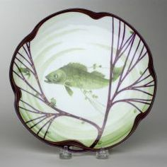 Plate HERMAN GRADL (GERMAN, 1869–1934)  NYMPHENBURG PORCELAIN FACTORY (GERMAN, b. 1747–PRESENT) 1900-1914