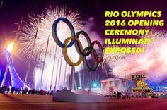 RIO OLYMPICS 2016 OPENING CEREMONY ILLUMINATI EXPOSED!