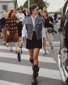 Trend Alert: Combat Boots - Blank Itinerary