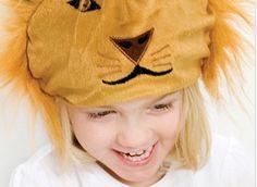Maschera da leone per bambini della collezione Oskar&Ellen