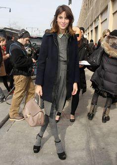 Alexa Chung:Street Style |