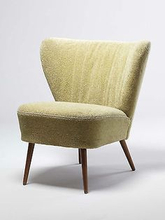 VINTAGE ARMCHAIR 50s 60s COCKTAIL CLUB CHAIR VINTAGE MID CENTURY MODERN CHAIRS