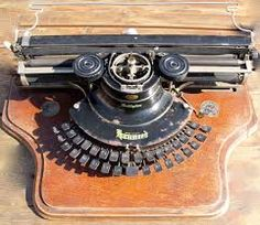 vintage schrijfmachines