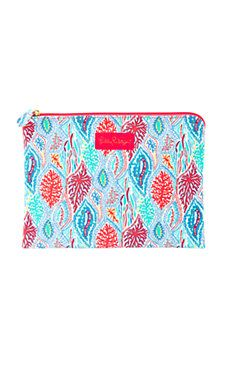 Multi Let Minnow Lilly Pulitzer pouch