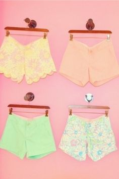 Lilly Pulitzer shorts <3
