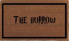 """The Burrow, Harry Potter Door Mat - Coir Doormat Rug, 2' x 2' 11"""" (24 Inches x 35 Inches) Outdoor, Housewarming Gift"""