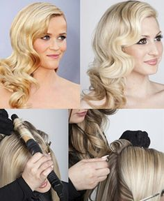 @mantz0415 This is what I meant by wavy hair! :) not sure if you like it but it's so glamourous! Old hollywood!