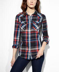 Tailored Plaid Shirt