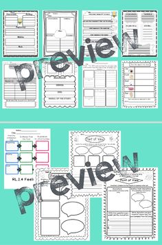 This packet is designed to help students gain an understanding for many of the Common Core First Grade Reading Standards. Standards Covered: Included in the pack: * 4 graphic organizers focusing on key details * 3 graphic organizers focusing on key de. Mcgraw Hill, First Grade Reading, Graphic Organizers, Core, Packing, Student, Organization, Bag Packaging, Getting Organized