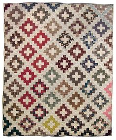 """Signature Quilt Maker unknown, probably made in Delaware County, New York (Multiple names inscribed on quilt) Dated 1846-1849 95.5"""" x 79.5"""" International Quilt Study Center, James Collection"""