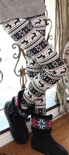 The Snow Envy Stripe Leggings is made in thin nine minutes of pants and  features snow 99b8a8d40fd