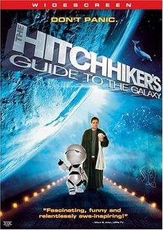 Today in history: Douglas Adams born in 1952. Another excuse for pan-galactic-gargle-blasters! Hitchhiker's Guide to the Galaxy: DVD